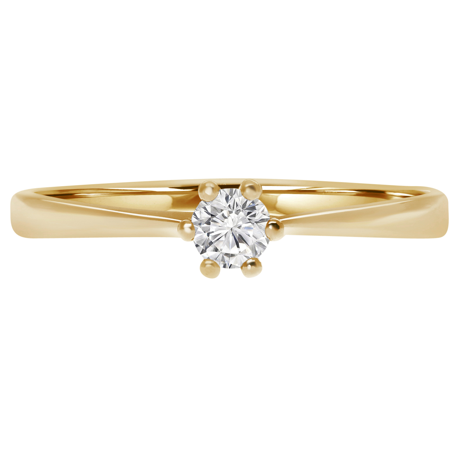 solitaire cut round engagement certified rings brilliant in diamond ct da gold ly ring white